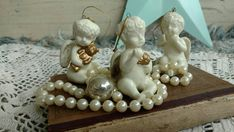 Check out this item in my Etsy shop https://www.etsy.com/listing/258612889/shabby-french-chic-angel-ornaments