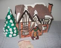 Your place to buy and sell all things handmade Christmas Village Lights, Tudor Style Homes, Light Building, Park Homes, Hang Tags, Gingerbread Cookies, Presents, The Originals, House
