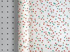 1950s Confetti Paper