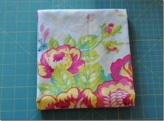 Tutorial: How to square up fabric for cutting
