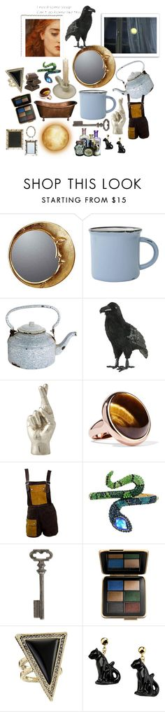 """Gillian Owens"" by cactusjellybookcollective ❤ liked on Polyvore featuring WALL, canvas, Dot & Bo, Home Decorators Collection, Noir Trading, Eddie Borgo, Janis, Betsey Johnson, Thirstystone and Estée Lauder"