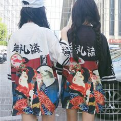 "Japanese students printed bathrobe   Coupon code ""cutekawaii"" for 10% off"