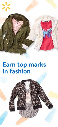 Affordable fashion for all ages --Walmart is home to head-to-toe ensembles that will standout this school year. Find looks for less today.