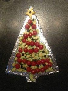 kersttraktatie voor het schoolkerstdiner #kerstdiner #school #kinderen
