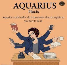 Aquarius Funny, Astrology Aquarius, Aquarius Quotes, Aquarius Woman, Zodiac Signs Astrology, Zodiac Signs Aquarius, Aquarius Facts, Zodiac Facts, Pisces