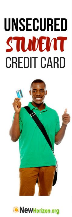 Unsecured Student Credit Card