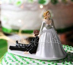 topper cake divertente