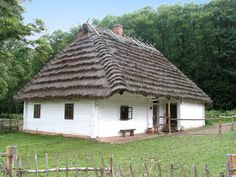 Thatched Roof, House Doors, Country Houses, Cottages, Poland, Gazebo, Medieval, House Plans, Landscapes