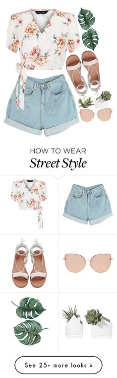 """""""I'm gonna leave again"""" by my-sweet-lolita on Polyvore featuring New Look and Topshop"""