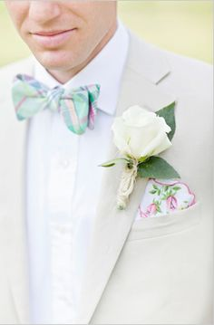 Preppy Groom's Style and that hankie :) just perfect for our wedding