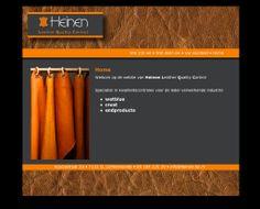 Website voor Johnnie Heinen specialist n kwaliteitscontroles voor de leder verwerkende industrie.  http://heinen-lqc.nl
