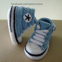 Artesanio, la web de las cosas hechas a mano All Star, Converse, Sports Baby, Baby Born, Mini, New Baby Products, Baby Shoes, Slippers, Stars