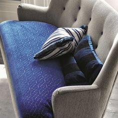 Stunning Trevira CS cut velvet with a beautiful fragmented pattern reminiscent of marquetry.