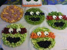 Teenage Mutant Ninja Turtles Fruit & Veggies Platters