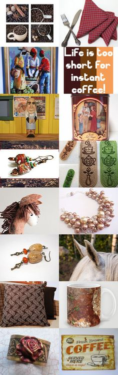 *** Good Coffee is a  by Roee on Etsy--Pinned+with+TreasuryPin.com