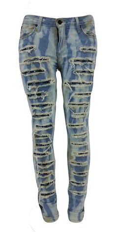 Robin's Jean New Women's w Aquamarine & Clear Crystal Jeans R80144-DA443BAC Flore 30