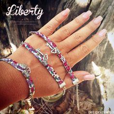 bracelets jewels Make a liberty bracelet in 5 minutes! Make a liberty bracelet in 5 minutes! Diamond Earrings Indian, Diamond Bracelets, Bracelets For Men, Sterling Silver Bracelets, Bangle Bracelets, Gold Earrings, Diy Bracelet, Silver Bangles, Crystal Earrings
