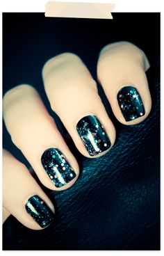 a galaxy at your fingertips <3