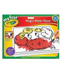 This Magic Water Paint Set by Crayola is perfect! #zulilyfinds
