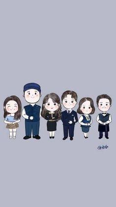 K Wallpaper, Kawaii Wallpaper, Iu Moon Lovers, Goblin, Korean Couple Photoshoot, Chibi, Nurse Art, Korean Drama Best, Drama Funny