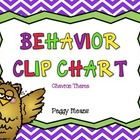 I hope you will enjoy this Chevron Theme Behavior Clip Chart!  Behavior Clip Charts are a great way to promote positive behavior and curb misbehavi...