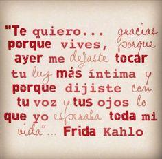 Frases de Frida Kahlo para dedicar