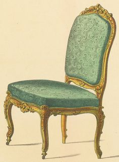 1000 images about rococo style on pinterest louis xv - Sillas estilo luis xv ...