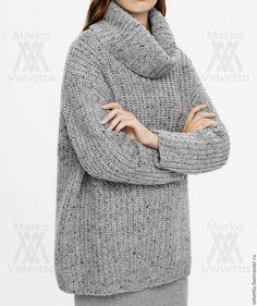 Купить Свитер шерстяной оверсайз. Свитер вязаный. Свитер. Шерсть 100%. - свитер для девушки