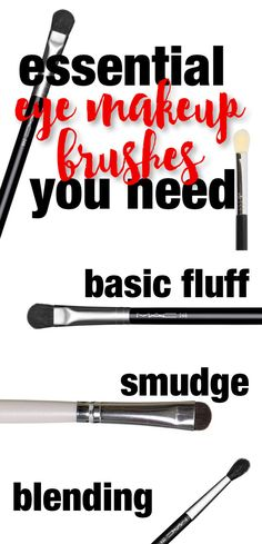 Great eye #makeup brushes that everyone needs! #ad
