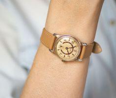 Unisex wristwatch ZIM boyfriend watch classy tomboy by SovietEra