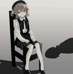 Cool Anime Girl, Beautiful Anime Girl, Anime Art Girl, Loli Kawaii, Kawaii Anime Girl, Girls Characters, Anime Characters, Little Girl Manga, Character Art