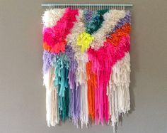 Woven wall hanging by JuJuJust