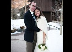 Ideas for Winter Weddings...That borrowed fur coat or cape would be great for taking pictures outdoor.