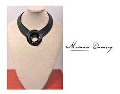 Collar/Necklace AMARAK DIJE #shine #style #fashion #collection #leather #maisondomecq #woman