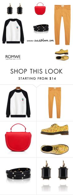 """Cacti"" by ldesouza13 on Polyvore featuring MANGO, Dr. Martens and Chloe + Isabel"