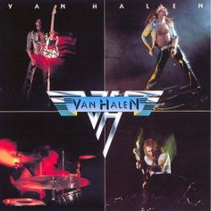 Van Halen, Van Halen*****: It's not too often that a single album will come along that changes everything that we know about music. This, the debut album from Van Halen, was the perfect album at the perfect time featuring the perfect guitar licks of Eddie and the perfect showmanship of Dave. Springing like Artemis from the forehead of Zeus, this album (and one 1:43 minute guitar solo in particular) was fully formed from the outset, and it spawned a whole new decade of music. 7/23/15