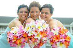 hawaiian flowers bridal bouquet | Wedding Flowers: plumeria wedding flowers