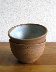 Handmade Ceramic Bowls-Set of 2 by MarketHome on Etsy, $20.00