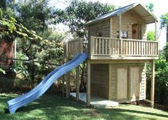 the ideal solution cubby house for kids and garden shed for storage