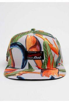 b110e34d253 Rook Clothing Bop Snapback Hat - White  32.00  rook