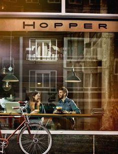Coffee love at Hopper Coffee, Rotterdam Cafe Bar, Cafe Shop, Deco Cafe, Coin Café, Coffee Places, Coffee Cafe, Coffee Shops, Coffee Culture, Luxor