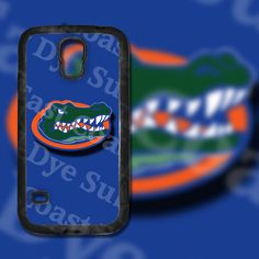 Florida Gators Blue Background on Samsung Galaxy S5 Black Rubber Silicone Case by EastCoastDyeSub on Etsy https://www.etsy.com/listing/195924199/florida-gators-blue-background-on