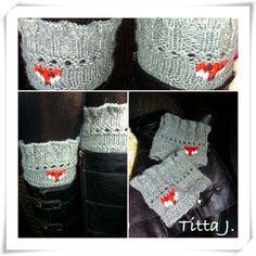 Foxy boot cuffs