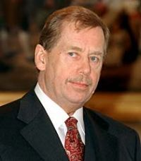 Vaclav Havel, Czech President and great humanitarian