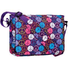 Free 2-day shipping on qualified orders over $35. Buy Wildkin Peace Signs Kickstart Messenger Bag at Walmart.com