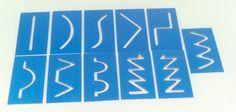 Ref. 020 - MATERIAL PARA COORDENAÇÃO MOTORA - Contém: 11 placas, cada placa com 10cm x 20cm. Objetivo: Desenvolvimento da coordenação motora. A partir dos 03 anos.