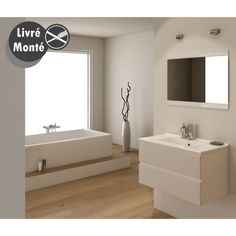 vasque 80 bain simple ensemble salle salle de bain afficher origine pas cher 80 cm oslo ensemble - Salle De Bain Beige Et Blanche