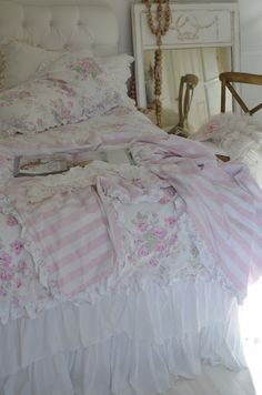Love this bedding...
