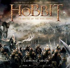Massive new banner for The Hobbit: The Battle of Five Armies comes online - Movie News | JoBlo.com