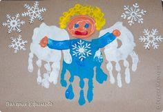 Поделка, изделие Отпечатки ладошек: Рождественский ангел Гуашь Рождество Body Drawing, Art Lessons, Advent, Crafts For Kids, Diy, Palms, Montessori, Clever, Ideas